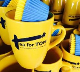 Tea for Tom Mugs