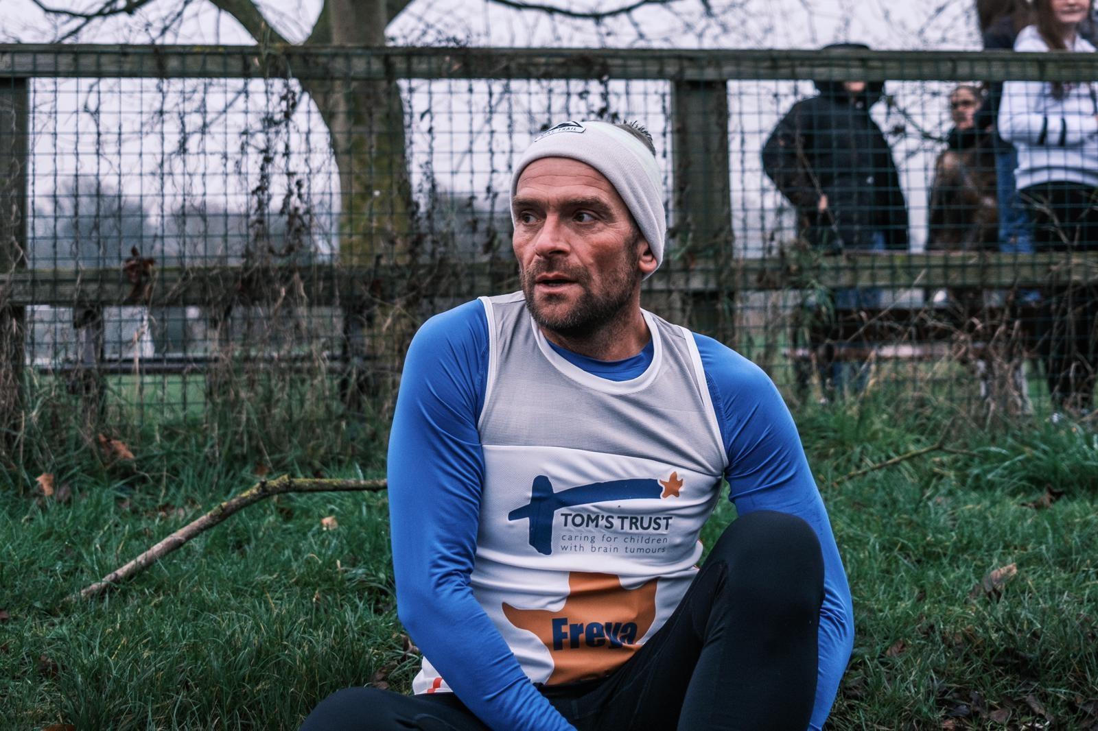 Ben during his training