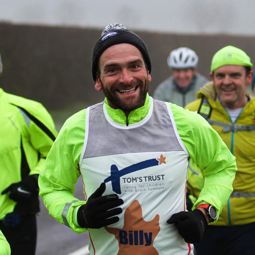 Ben Blowes completed 31 marathons in 31 says for Tom's Trust
