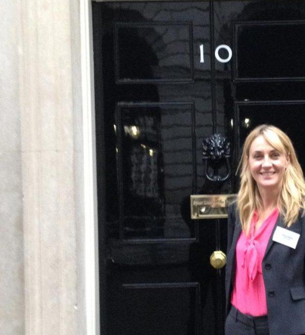Debs at 10 Downing Street