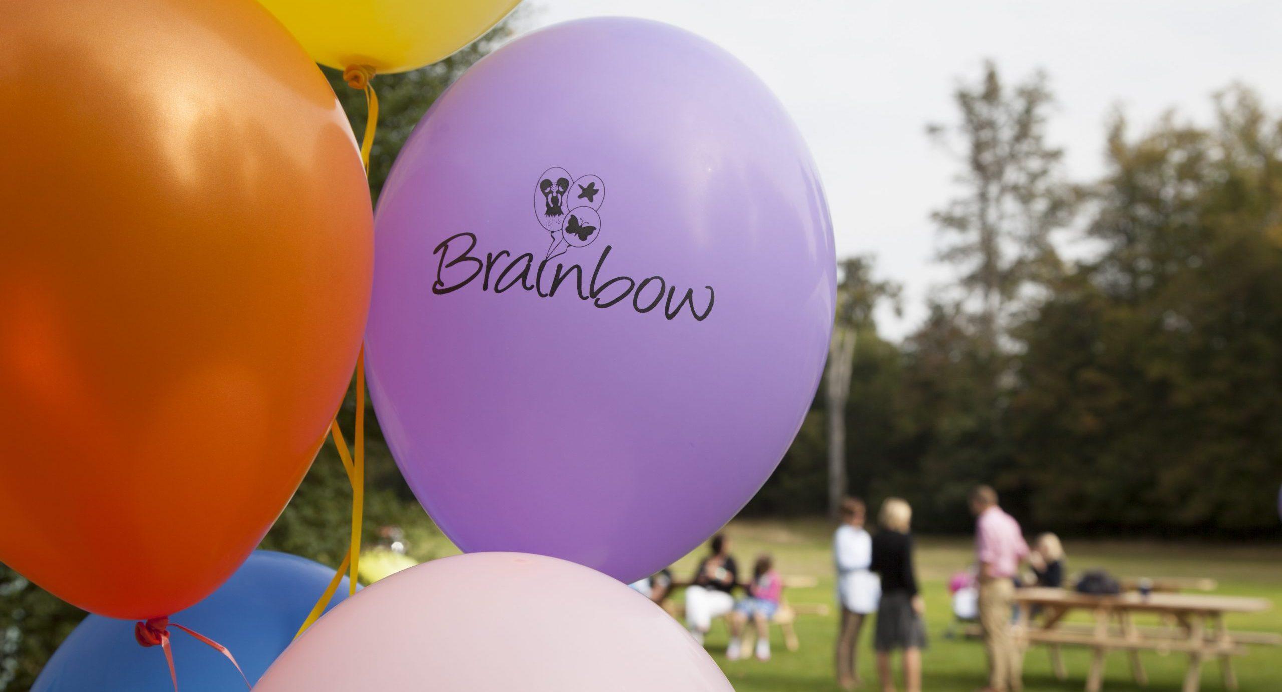 Brainbow balloons
